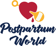 Postpartum World - 4C - Blue Type